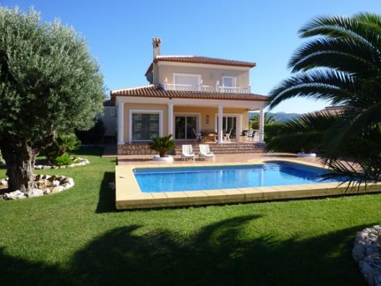 Villa Segaria In Spanien   Startseite
